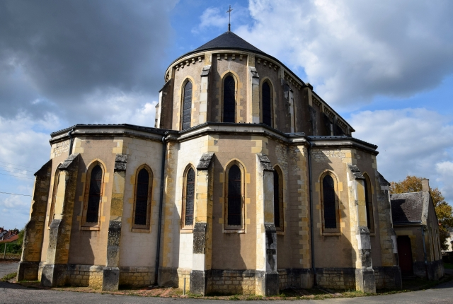 Église Notre Dame de Lourdes de Nevers Nièvre Passion