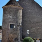 Tour de Flez Cuzy un vestige des Fortifications du château