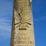 Monument aux morts de Champlemy Nièvre Passion