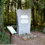 La stèle du Maquis Camille au Merle un  hommage