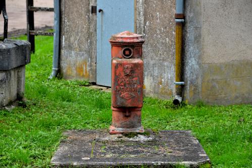 Ancienne bouche d'incendie de la Coudraye un petit patrimoine