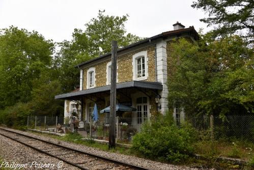 Ancienne gare de Vandenesse Nièvre Passion