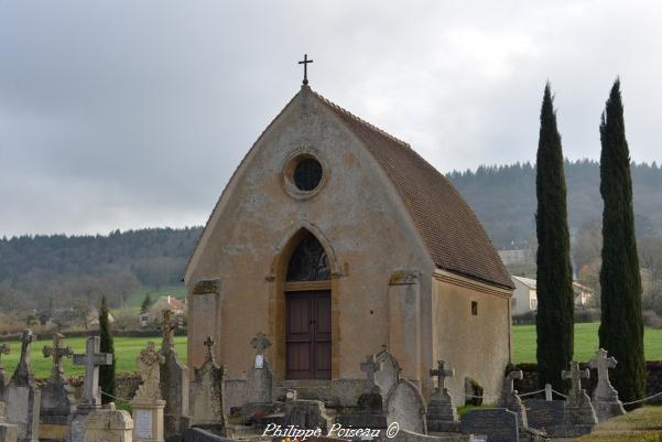 Chapelle de Bourg-Bassot – Cimetière de Bourg-Bassot