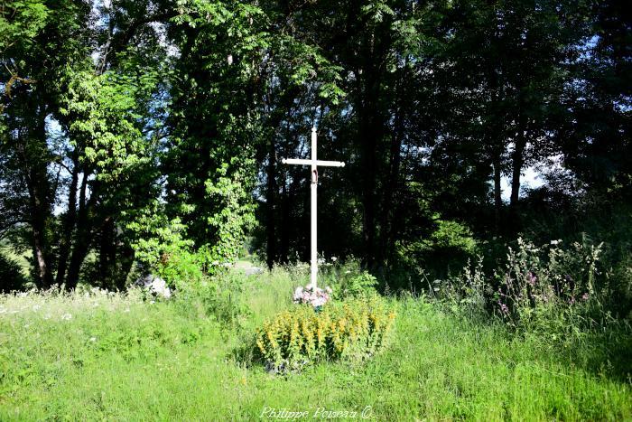 """Croix de """"La Comme"""" un patrimoine vernaculaire."""