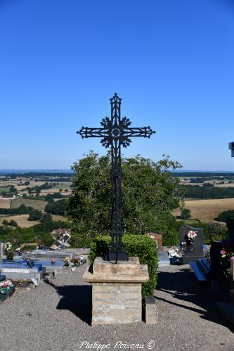 Croix du cimetière de Onlay – Patrimoine vernaculaire