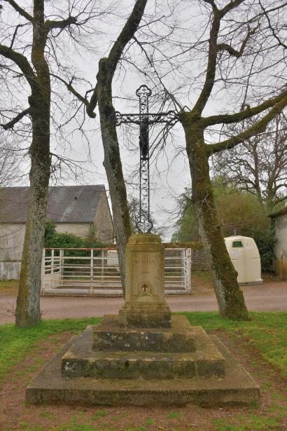 Crucifix de Bazolles un patrimoine vernaculaire