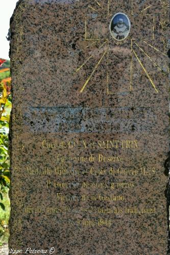 Stèle Camille Bornet abbé martyr – Souvenir