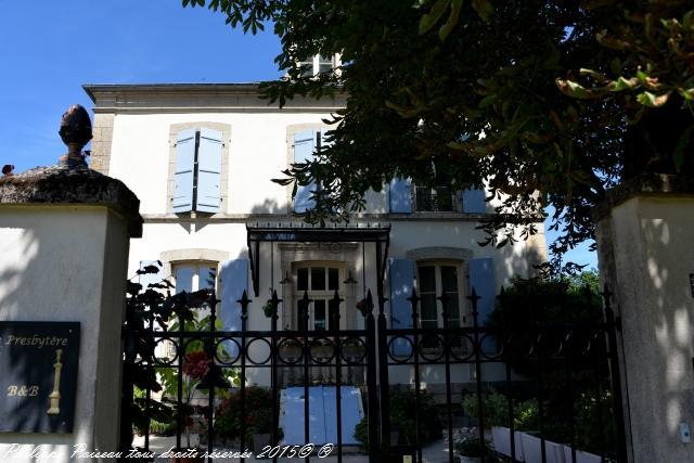 Presbytère de Marigny sur Yonne un beau patrimoine