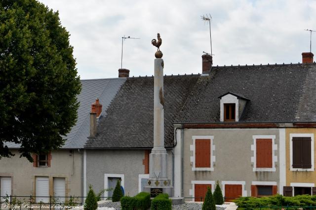 Monument aux morts de Chiddes Nièvre Passion