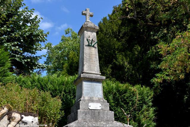 Monument aux morts de Challement
