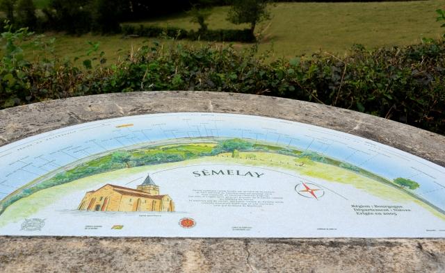 Panorama de Semelay