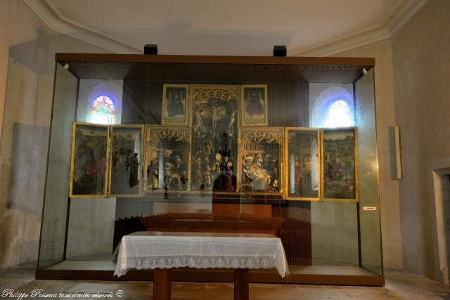 Triptyques de Ternant en l'église Saint-Roch remarquable
