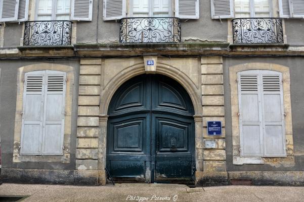 Hôtel Tiersonnier de Nevers – Un ancien Hôtel de Nevers