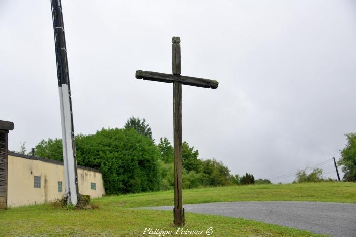 La croix de Sichamps un patrimoine vernaculaire.