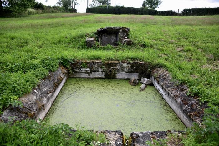 Le lavoir du lieu-dit des Chaumes de Sancenay