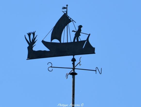Les girouettes des mariniers du remarquable Bec d'Allier