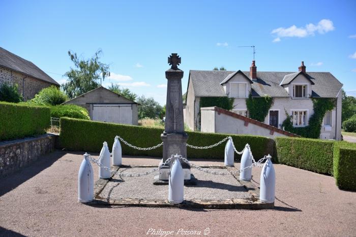 Monument aux morts de Blismes un hommage.