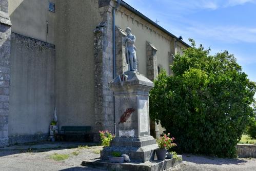 Monument aux morts de Glux en Glenne Nièvre Passion