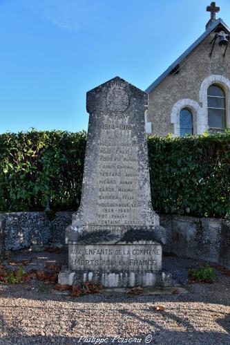 Monument aux morts de Saint Pierre