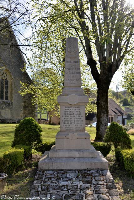 Monument aux morts de Sainte Colombe des Bois Nièvre Passion