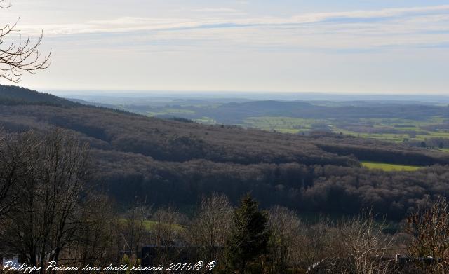Panorama du calvaire de Château Chinon Nièvre Passion
