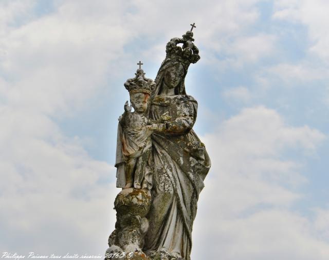La vierge de Champvert – Patrimoine vernaculaire