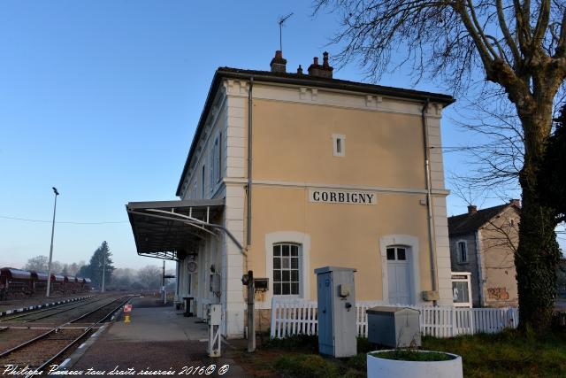 la gare de Corbigny