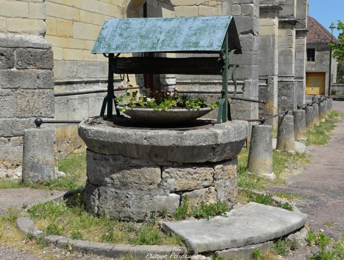 Puits de l'église de Tannay