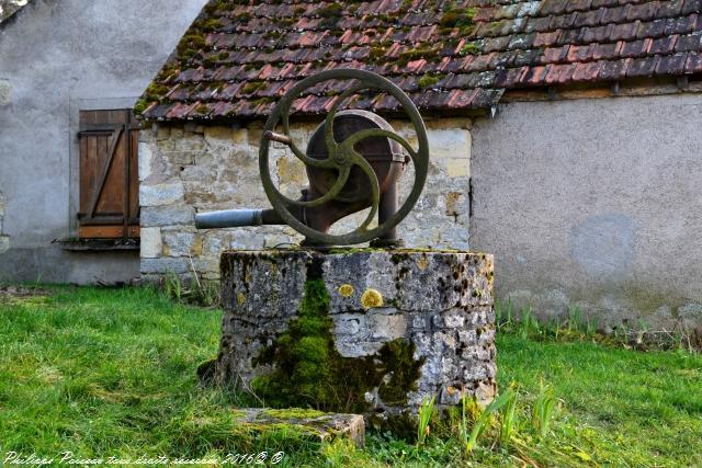Puits du Village de Saint Didier un patrimoine