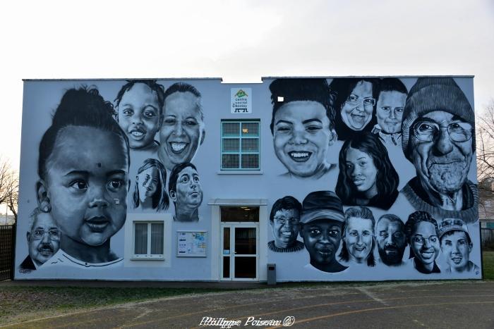Street art dans la Nièvre un nouveau patrimoine.