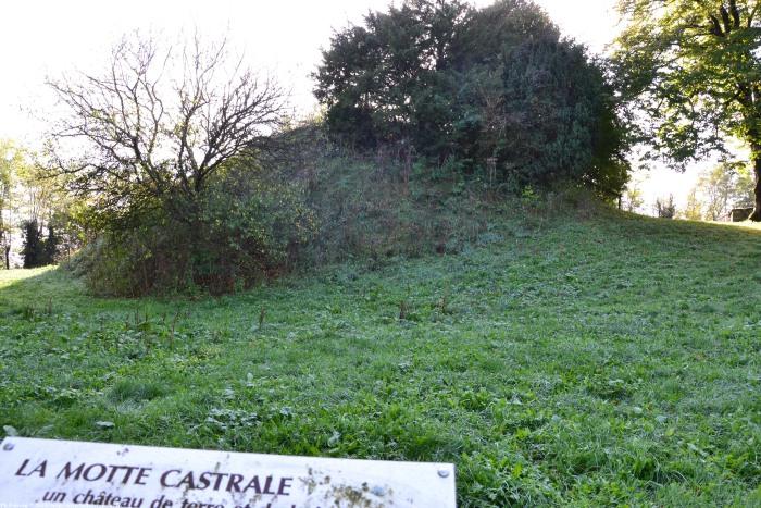 Motte Castrale de Montenoison un patrimoine