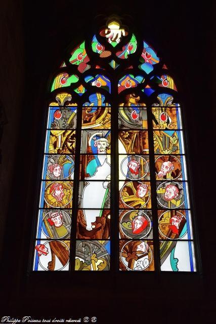 Vitraux de la Cathédrale de Nevers – Magnifique vitraux