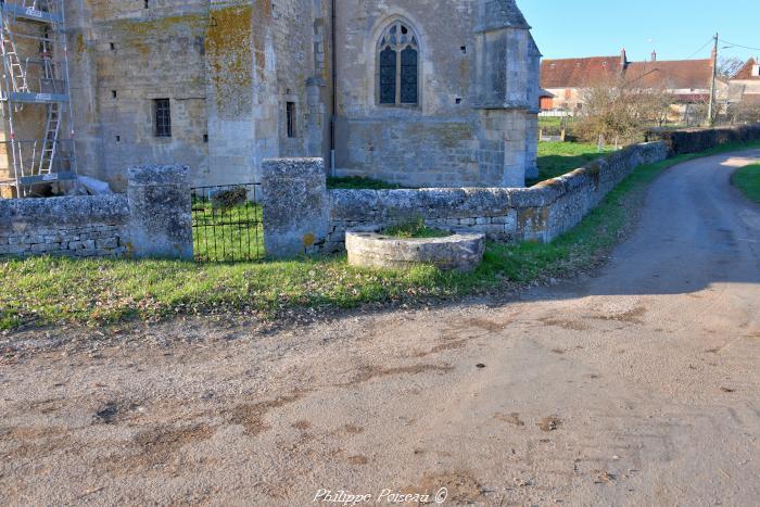 Puits de l'église de Cuncy-lès-Varzy