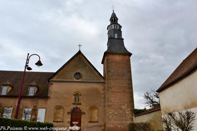 Hospice de Dornes une remarquable Chapelle de Dornes