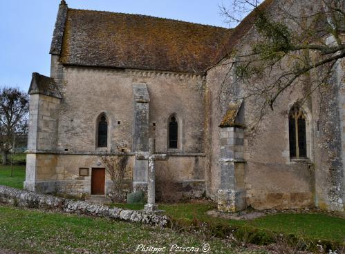 Croix de l' église de Cuncy Lès Varzy – Patrimoine