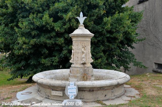 Fontaine de Chauprix – Patrimoine vernaculaire de Nolay