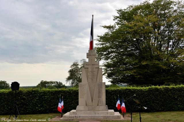 Colonne du Maquis Mariaux un remarquable hommage