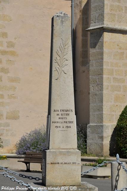 Monument aux Morts de Bitry