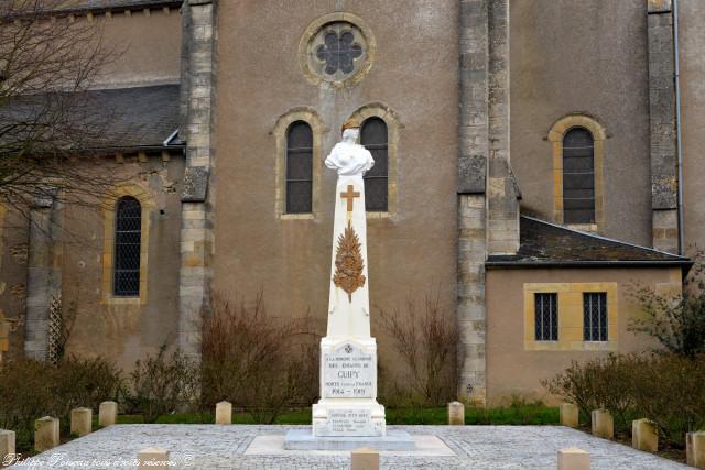 Monument aux Morts de Guipy Nièvre Passion