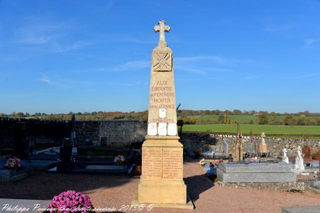 Monument aux Morts de Fertrève