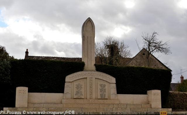 Monument aux morts de Narcy Nièvre Passion