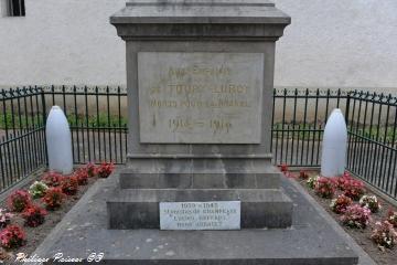 Monument aux morts de Toury Lurcy Nièvre Passion