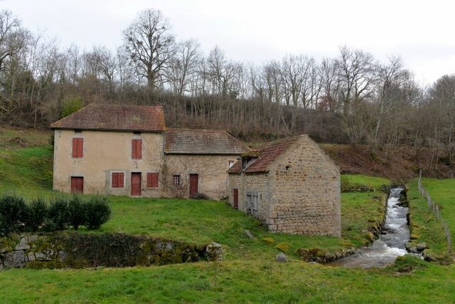 Le moulin de La Vallée