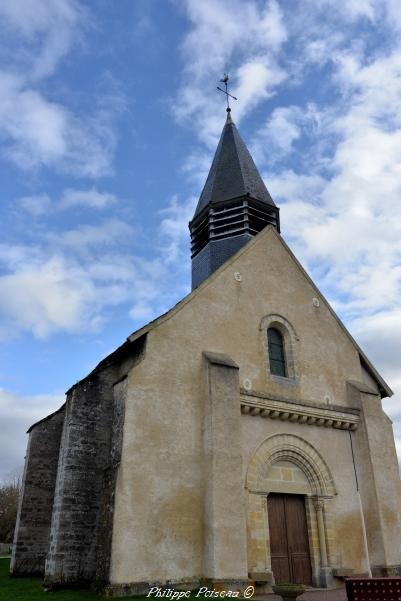 Intérieur de l'église de Pazy