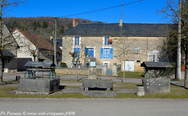Place des Puits de Grenois Nièvre Passion