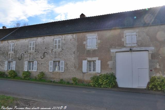 Ancienne maison du village de Rix un patrimoine