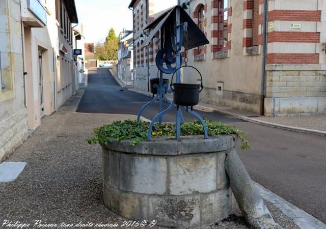 Puits de Saint Pierre le Moutier
